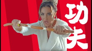 Ольга Бузова учится Кунг-фу  делает карате