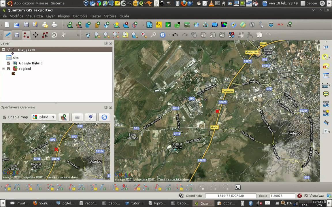 mappe qgis