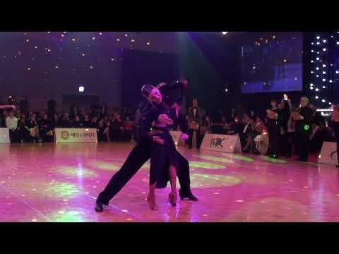 Troels & Ina   Rumba F  Professional Latin Korea Open 2018