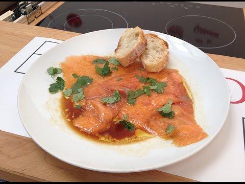 carpaccio-de-saumon-à-la-coriandre-et-à-la-sauce-soja
