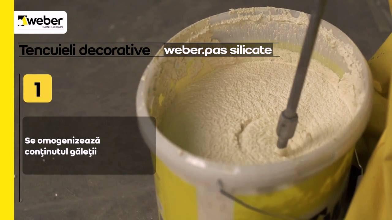 Tencuiala Decorativa Weber.Cum Să Aplici Tencuiala Decorativă Silicatică Weber