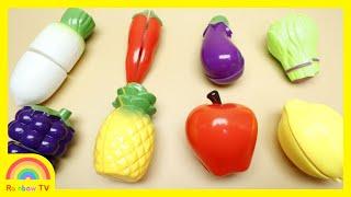 믹서기 장난감 놀이와 과일이름 배우기