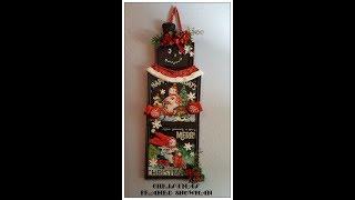 Tricia's Creations: Christmas Framed Snowman: Dollar Tree
