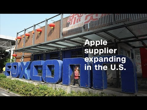 Trump announces Foxconn factory in Wisconsin