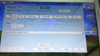 VW 2.0TDI BKP EGR BASIC SETTING