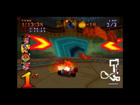 N.Gin Labs - CTR Challenge - Crash Team Racing - 101% Playthrough (Part #38)