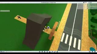 How to build a Rocky Entrance - ROBLOX Theme Park Tycoon 2