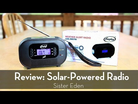 Product Review: Solar-Powered Radio by Freeplay