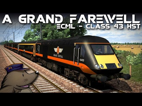 TS2018 | A Grand Farewell | ECML South | Grand Central Class 43 HST