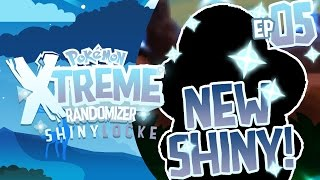 RANDOM SHINY AND SO MUCH SALT!! Pokemon XTREME Randomizer ShinyLocke! Episode 05