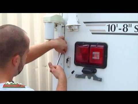 Happijac Truck Camper Electric Automatic Jacks - YouTube on