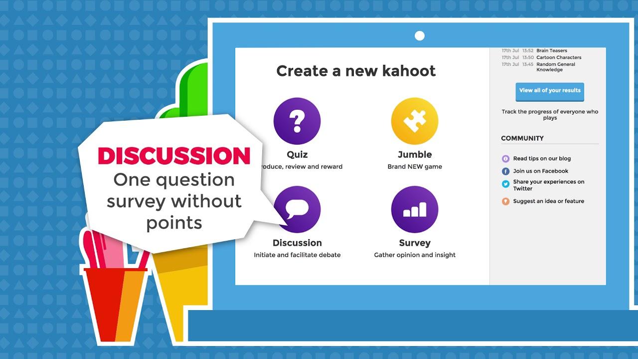 Modular Classroom Quiz ~ Create a kahoot in simple steps youtube