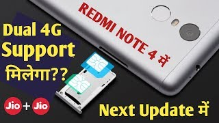 REDMI NOTE 4 DUAL 4G VOLTE SUPPORTED || Dual VoLTE Support on Snapdragon 625 || Mi A1 Dual 4g