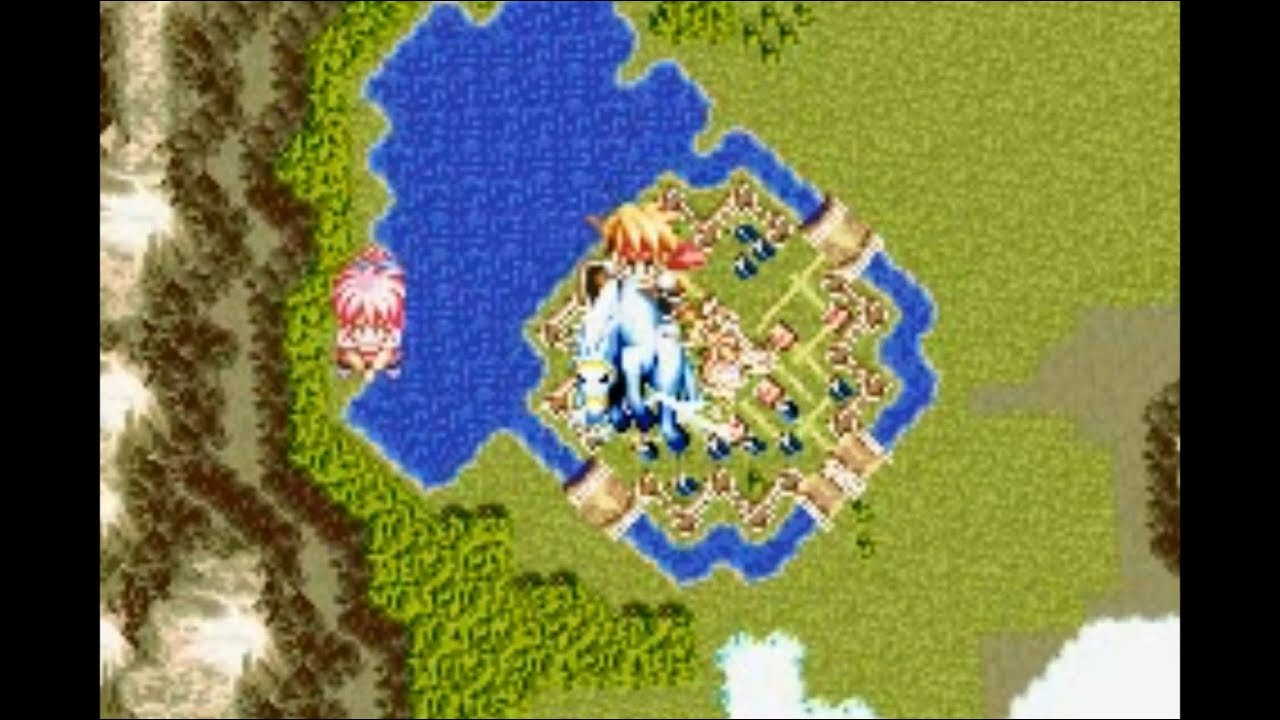 Tales of Phantasia (GAMEBOY ADVANCE) Part 30 To The Skies
