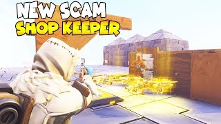 Shop Keeper Does a NEW SCAM! (Scammer Gets Scammed) Fortnite Save The World