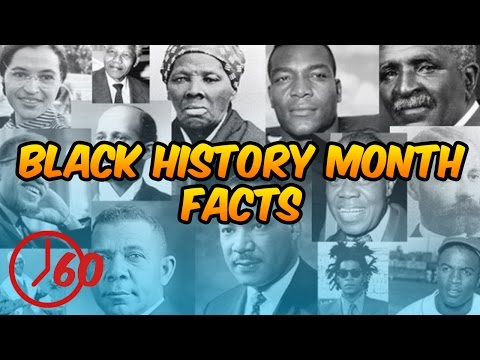 60 Seconds of Black History Month FACTS