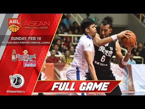 San Miguel Alab Pilipinas vs Formosa Dreamers | LIVESTREAM | 2017-2018 ASEAN Basketball League