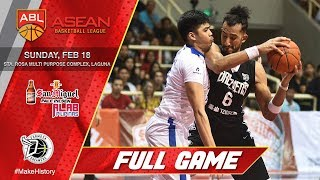 San Miguel Alab Pilipinas vs Formosa Dreamers | FULL GAME | 2017-2018 ASEAN Basketball League
