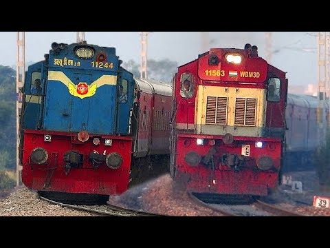 Fastest Diesel Rajdhani Express | Ahmedabad - New Delhi | Indian Railways