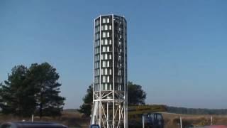 Вертикальная турбина ветровой электростанции/Vertical turbine wind power station