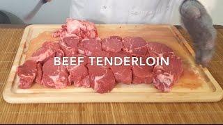 Beef Tenderloin- Part 2. The Family Butcher