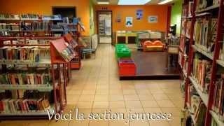 Visite de la Bibliothèque de Quiévrain - Section Jeunesse.