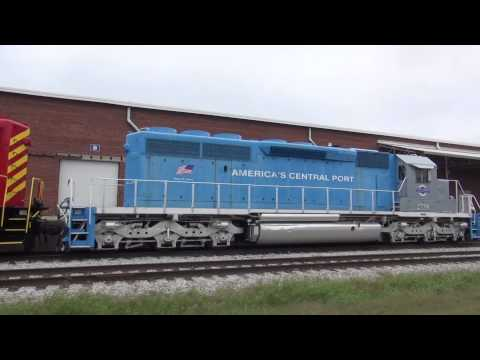 A Few Trains Around The Metro East of St. Louis 10/3-4/2015