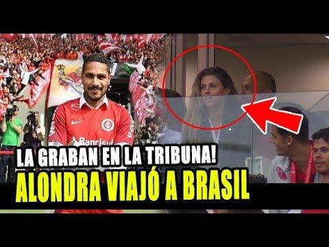 ALONDRA GARCÍA MIRÓ CELEBRÓ EL REGRESO DE PAOLO GUERRERO