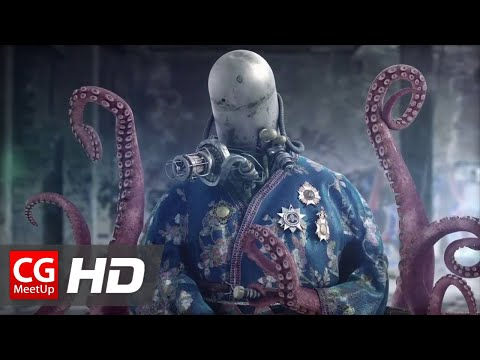 """CGI Making of HD """"Making of Leviathan Ages Octopus Emperor"""" by Martin Gunnarsson 