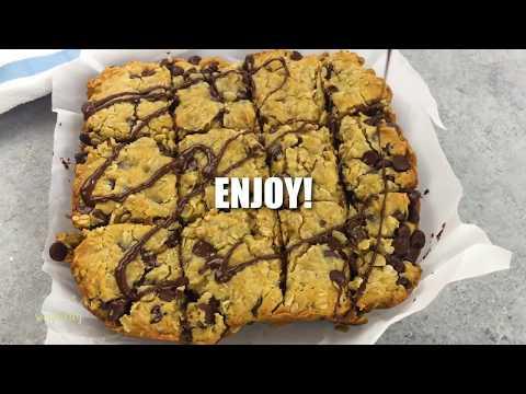 Easy Chocolate Oatmeal Bars