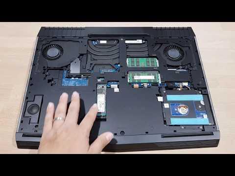 แกะงัดอัพเกรด Dell Alienware 17 R4 (Fix & Upgrade ) โน้ตบุ๊คเล่นเกมเรือนแสน อัพเกรดอะไรได้อีก
