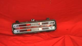 1974 GTO Tail Light Lens