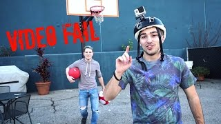 VIDEO FAIL WITH TOM & ERIC | VLOG