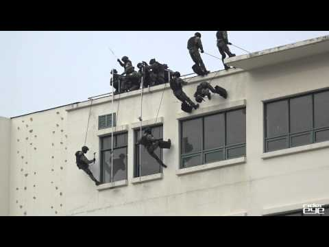 Korea military and police Counter Terrorism Training
