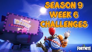 Fortnite - Season 9 Week 6 Battle Royale All Free and Battle Pass Challenges