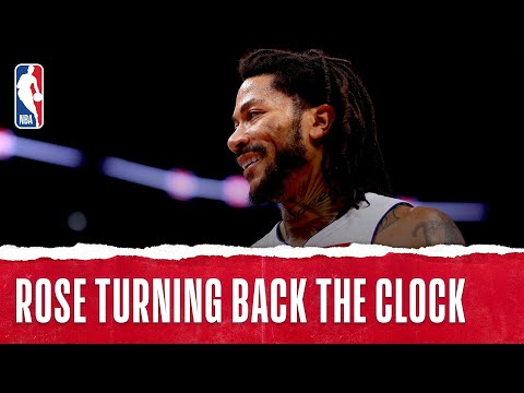 Best of Derrick Rose   Part 1   2019-20 NBA Season