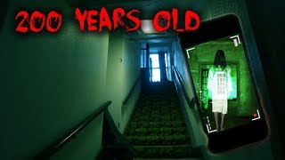 USING A GHOST TRACKER IN 200 YEAR OLD ABANDONED  MANSION(PART 1)