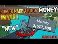 HOW TO MAKE ALOT OF MONEY in Lumber Tycoon 2!! Roblox