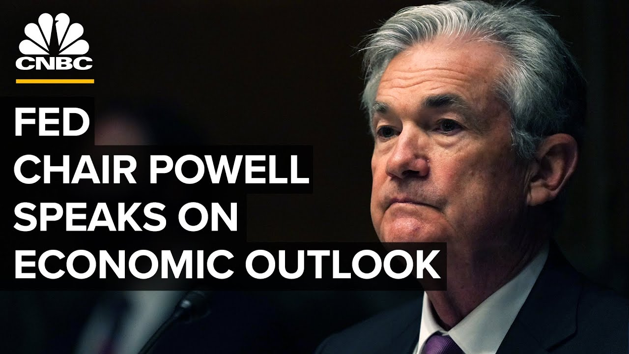Chair Powell speaks after Fed lifts inflation expectations, sees rate hikes in 2023 — 6/16/21