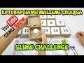 Canlı Yayında Kutudan Hangi Malzeme Çıkarsa Slime Challenge - Merak Edilenleri Cevaplıyoruz