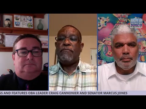 BNV with OBA Leader Craig Cannonier & Senator Marcus Jones, July 15 2020
