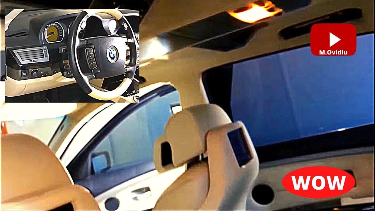 Bmw E65 E66 Full Interior Replace Youtube