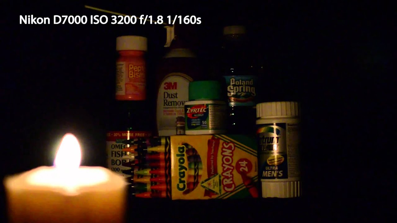 Nikon D7000 Low-Light/High-ISO Video Test - YouTube