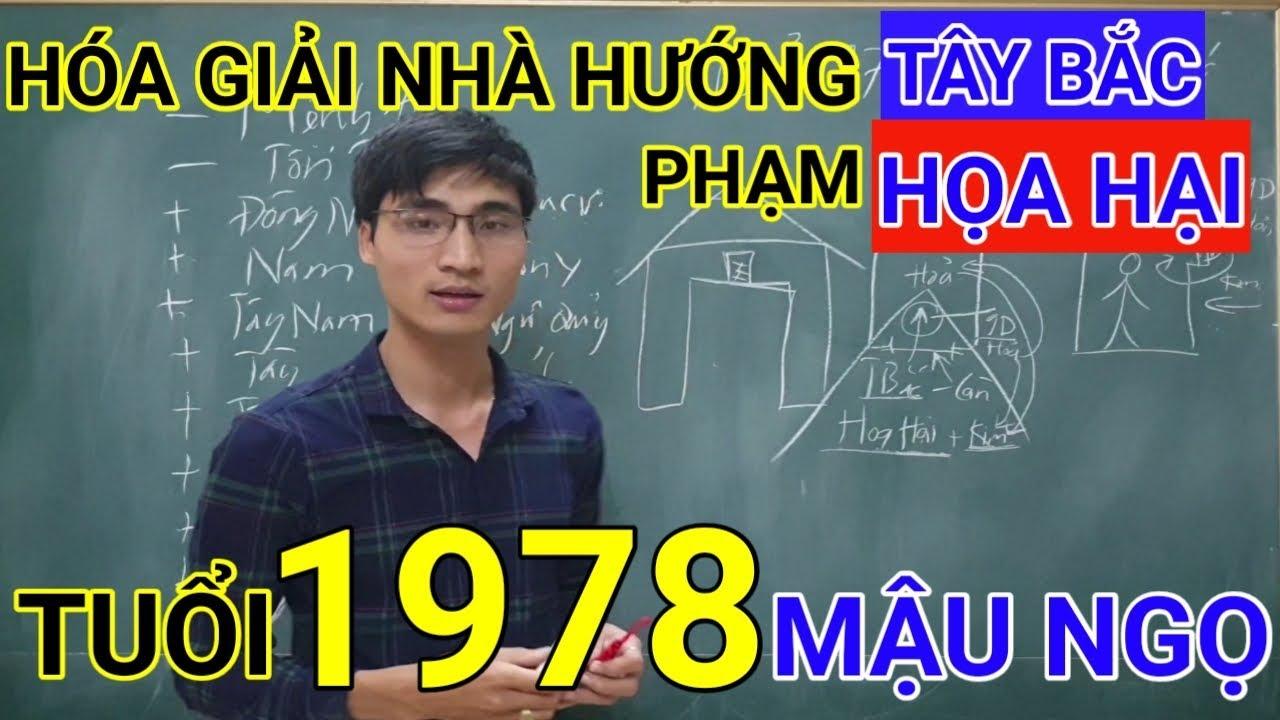Tuổi Mậu Ngọ 1978 Nhà Hướng Tây Bắc | Hóa Giải Hướng Nhà Phạm Họa Hại Cho Tuoi Mau Ngo 1978