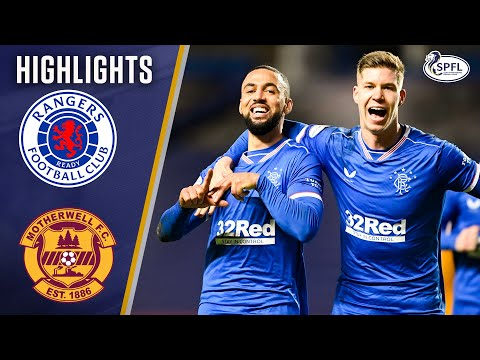 Rangers Motherwell Goals And Highlights