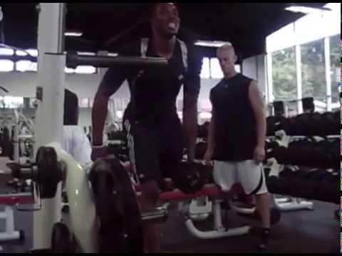 Dwight Howard Lower Body Prep workout video clips 2009