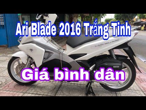 Bán Xe Ari Blade 2016 Trắng Tinh Khôi - Chuyên Xe Cũ Tiền Giang