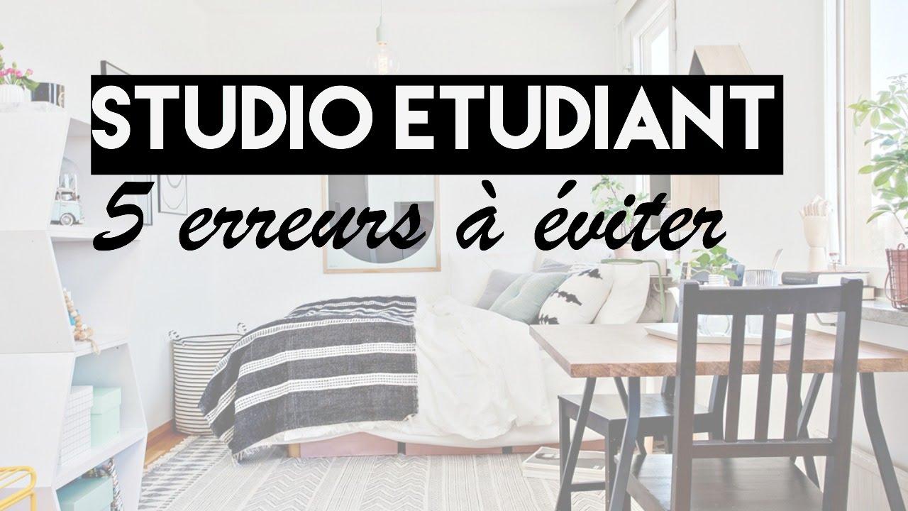 back to school 5 erreurs viter dans son studio tudiant ebook youtube. Black Bedroom Furniture Sets. Home Design Ideas