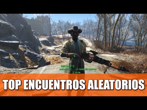 FALLOUT 4   TOP 15 ENCUENTROS ALEATORIOS thumbnail