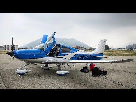IFR Flight Vlog - Cirrus SR22T G6 London To Switzerland | ATC Audio
